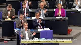 Rede von Alexander Gauland zur Regierungspolitik der Bundeskanzlerin am 12.09.18
