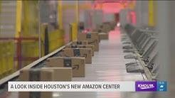 A look inside Houston's new Amazon center