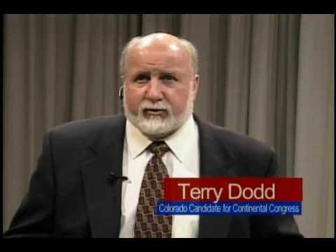 Terry Dodd Candidate for Delegate from Colorado  Continental Congress 2009