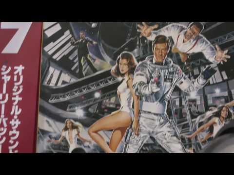 Soviet Russian (Klingon?) Korvet 038S turntable Barry James Bond 007 Moonraker flight in space vinyl