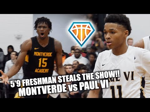 5'9 FRESHMAN STEALS THE SHOW vs Montverde Academy!! | Reigning National Champs COME BACK