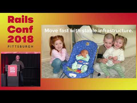 RailsConf 2018: Keynote: Rails Doesn't Scale by Mark Imbriaco