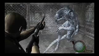 resident evil 4 part 8 the ninja bodyguard seeks me ugh creepy
