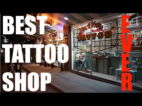 The Best Tattoo Shop (Ever)