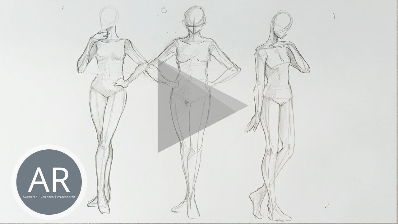 Youtube Video: menschen zeichnen lernen