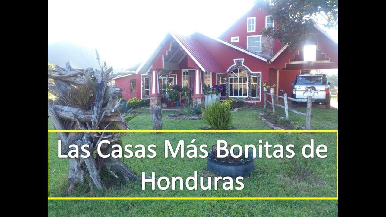 Las Casas Mas Bonitas de Honduras Miralas Aqui - YouTube