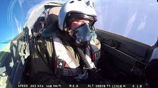 Video MiG-29 view on Pilot during High Altitude Flight - full length download MP3, 3GP, MP4, WEBM, AVI, FLV September 2018