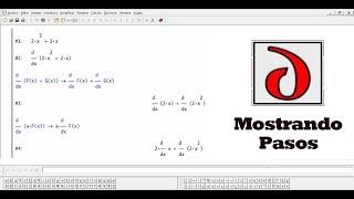 Como usar Derive 6 (Mostrando solución paso a paso)