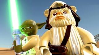 LEGO Star Wars The Force Awakens Part 2 Jakku HUB All Carbonite, Characters & Gold Bricks