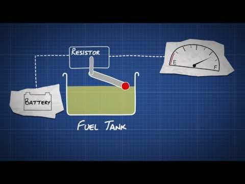 How does a Fuel Gauge Work - Dummies Video Guide