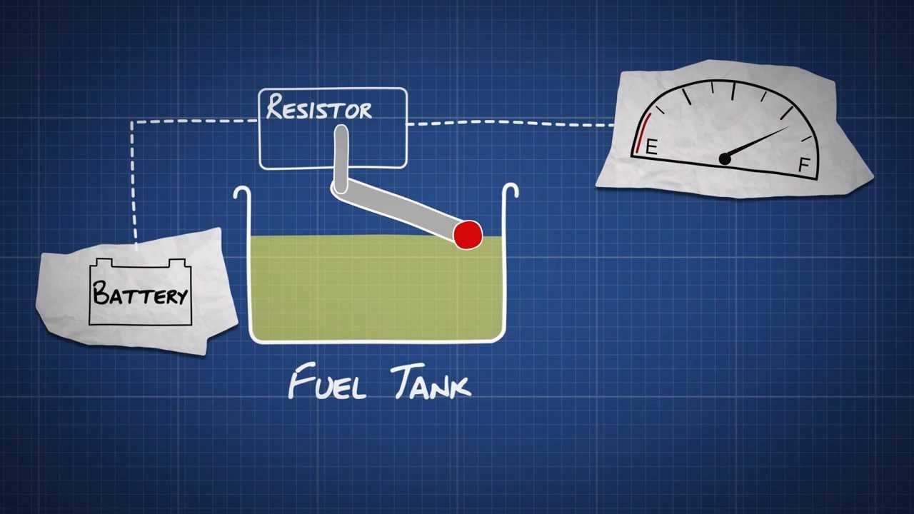 2 wire fuel gauge diagram [ 1280 x 720 Pixel ]