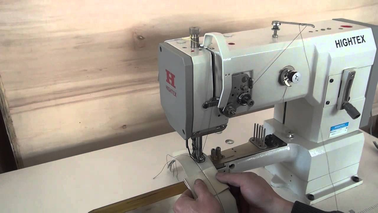Pfaff 335 type cylinder bed unison feed leather sewing