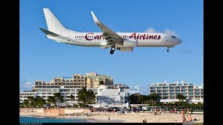 Caribbean Tour | Jamaica - Santo Domingo - St Maartin | ZIBO B738 3.32d | X-Plane 11