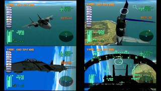 Dreamcast Aerowings 2 II F-15 shoot down two f-14s