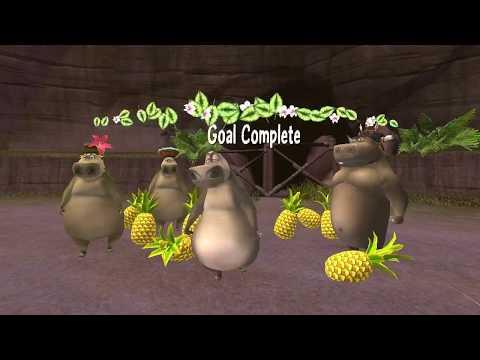 Madagascar 2 Escape Africa Walkthrough PC - Part 15 - Wooing Gloria - HD