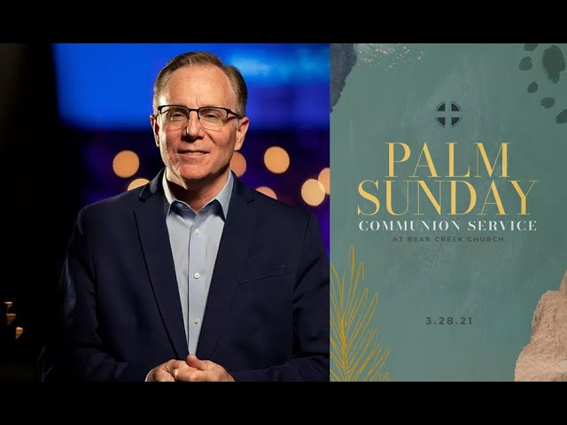 Embracing the Cross on Palm Sunday, Pastor David Welch