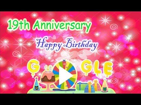 Google 19th Anniversary Reward | Google Birthday Surprise Spinner