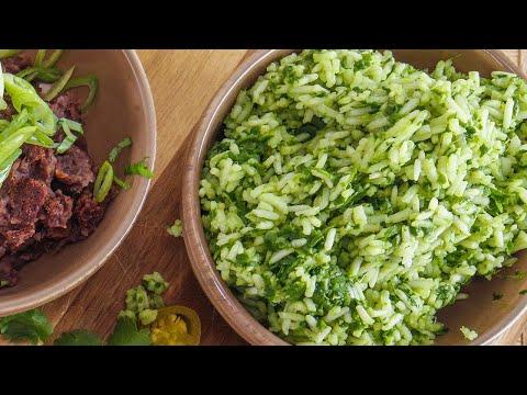 Rachael's Green Rice
