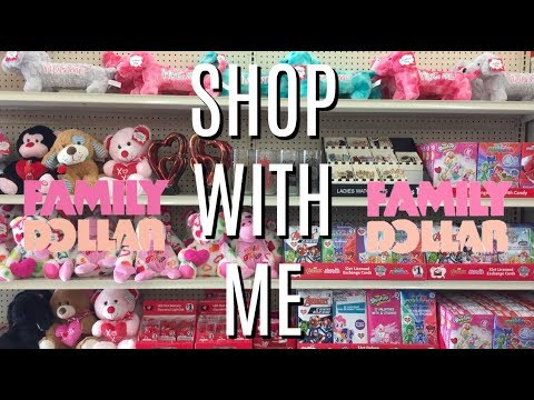*LIVE*💕VALENTINE'S DAY AT FAMILY DOLLAR💕SHOP WITH ME