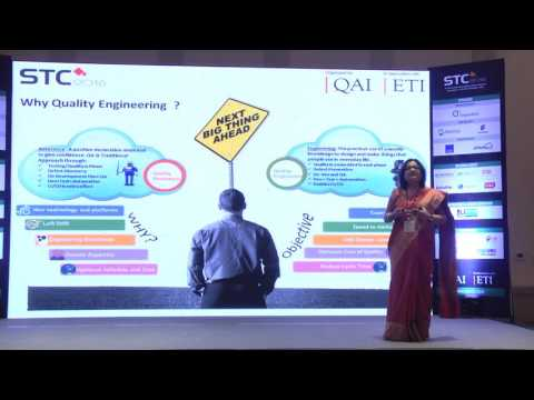 Keynote  Mili Mitra  United Health Group  Transformational Strategies in Quality Engineering 1