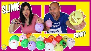 Making Slime with Funny Balloons | Slime con Globos Divertidos | Satisfying Slime video