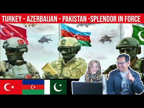 TURKEY - AZERBAIJAN - PAKISTAN -SPLENDOR IN FORCE CLIP   Pakistani Reaction   Subtitles