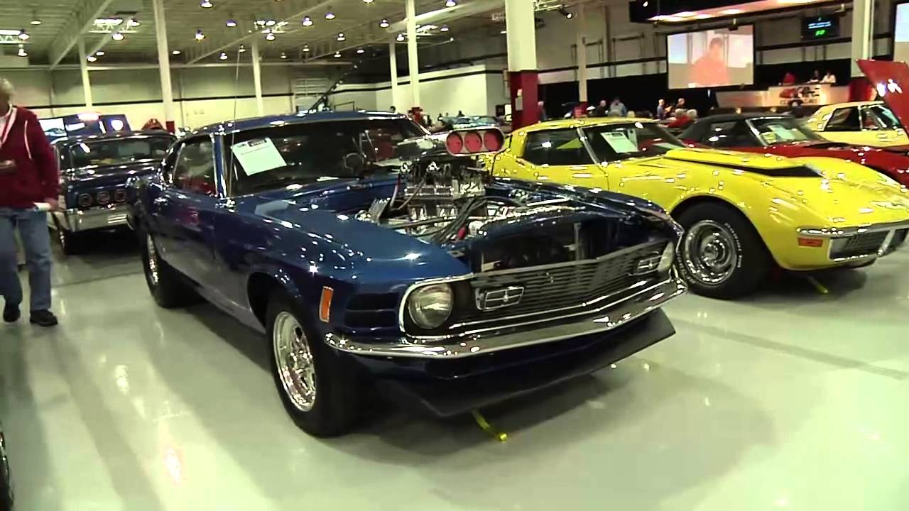 GAA Classic Cars Auction TV Show 3 of 4 - YouTube
