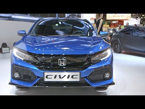 2017 Honda CIVIC Hatchback WORLD PREMIERE at the Paris Motor Show