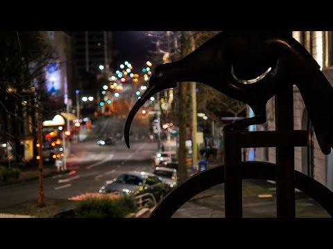 Night in Auckland City