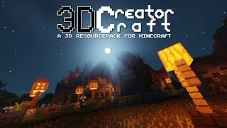 3D CreatorCraft | A 3D Resourcepack for Minecraft - Cinematic Trailer