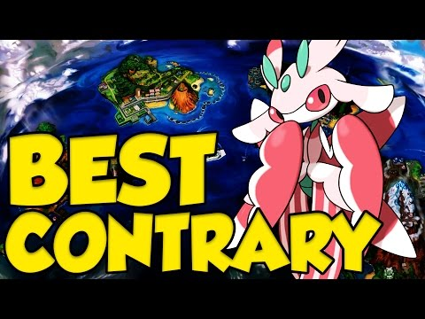 LURANTIS IS THE STRONGEST CONTRARY POKEMON?