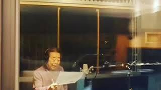 송해선생님 라디오광고 녹음 현장 by 멜로펀치