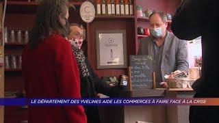 Yvelines | Le département des Yvelines aide les commerces à faire face à la crise