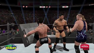 WWE 2K15- Randy Orton vs Batista vs RVD Triple Threat Match WWE ECW Championship (PS4)