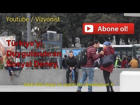 KADINA ŞİDDETE HAYIR ! | Türkiye'yi Duygulandıran Sosyal Deney