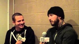 "Bleeding Through (Ryan) Interview on Riff2 Detroit's ""Inside The Circle Pit"" with Erik Aratari"