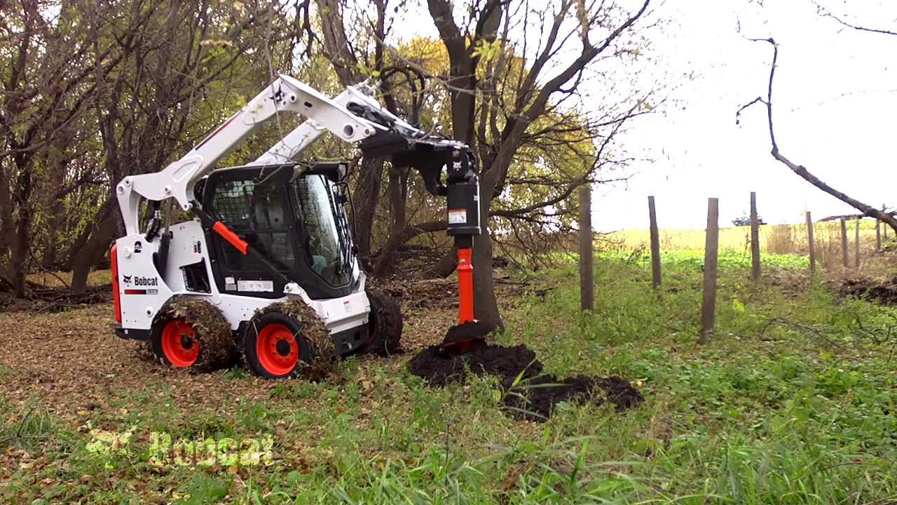 Bobcat Planetary Auger Attachment