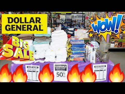 HOT 🔥 DOLLAR GENERAL 🔥 CLEARANCE 🔥 SALE 🔥 EVENT