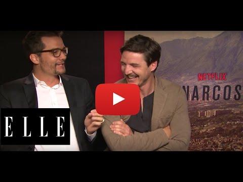 NETFLIX' NARCOS: ELLE in gesprek met hoofdrolspelers Wagner Moura en Pedro Pascal