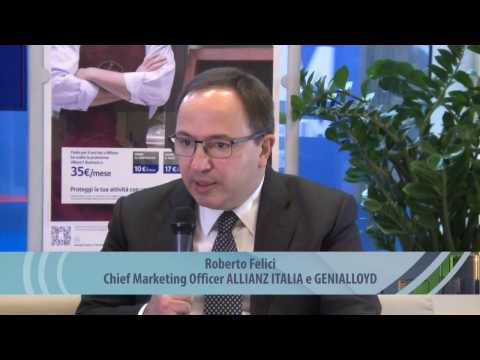 Video intervista a Roberto Felici, Head of Market Management di ALLIANZ