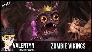 Zombie Vikings - King Fluffy PC Gameplay Demo 4K 60FPS