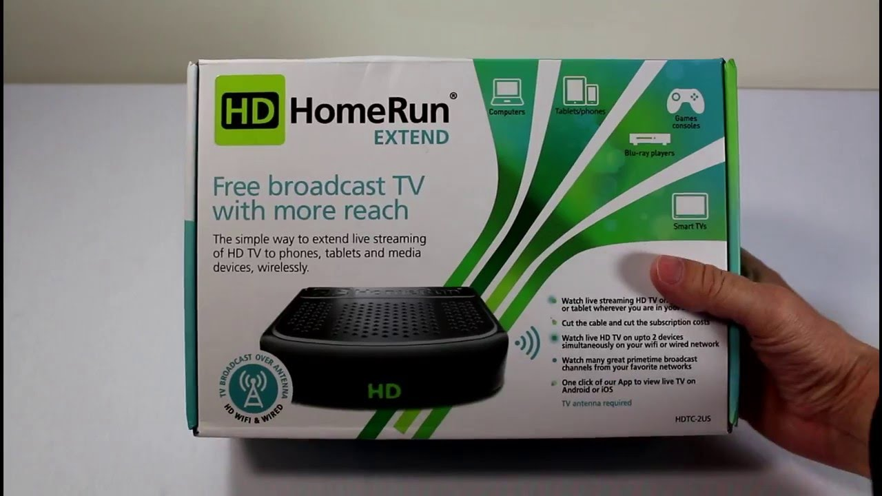 Review: SiliconDust HDHomeRun EXTEND FREE broadcast HDTV ...