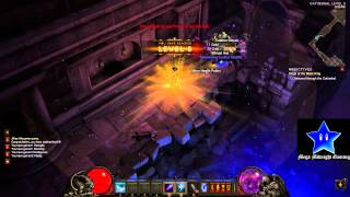 Diablo 3 Wizard Gameplay Part 1 (No Commentary)