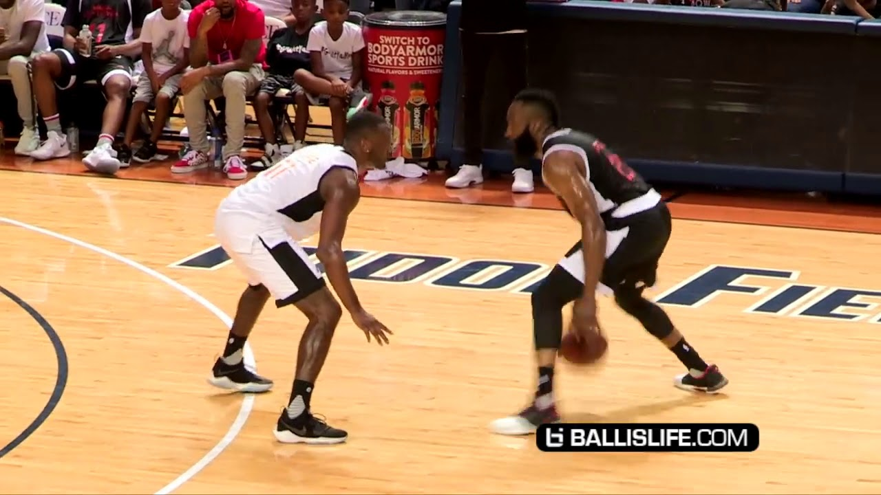 691b26f42aa3 James Harden+CP3 VS John Wall! JH-Town Weekend Charity Game!!! - YouTube