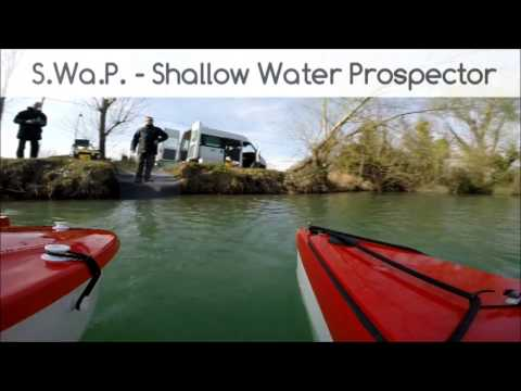 ASV - USV - Aquatic Robot SWAP - Shallow Water Prospector by