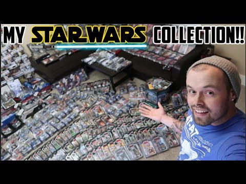 MY STAR WARS COLLECTION!! THE BLACK SERIES, VINTAGE COLLECTION, 30TH ANNIVERSARY AND MORE!