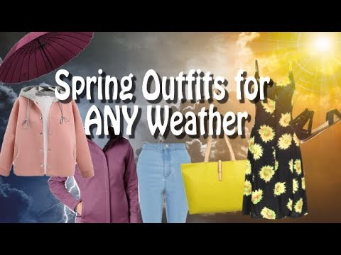 Cute Outfit Ideas for Spring Weather 9