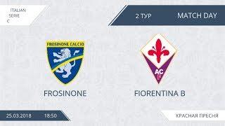 AFL18. Italy. Serie C. Day 2. Frosinone - Fiorentina B