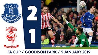 BERNARD OFF THE MARK WITH MAGICAL FINISH! | EVERTON 2-1 LINCOLN CITY