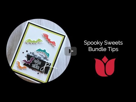Tips For The Stampin' Up! Spooky Sweets Bundle
